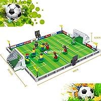 Tivolii サッカーモデル組み立てキット レゴシティ フットボール 3Dブロック 教育モデル 玩具 子供の趣味を育てます