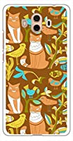 sslink Mate 10 HUAWEI ハードケース ca1324-6 CAT ネコ 猫 スマホ ケース スマートフォン カバー カスタム ジャケット