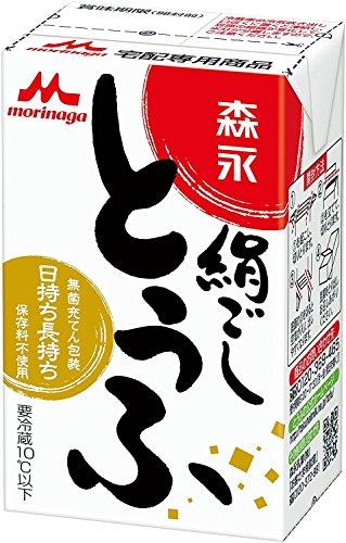 森永の絹ごし豆腐 (290gx6×2箱)1ダース 震災時等の保存食に最適!!