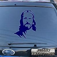 3s MOTORLINE面Christ Jesus Godデカールステッカー車ビニールPickサイズカラーDie Cut No背景 20'' (50.8cm) ブラック 20180329s26