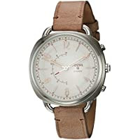 Fossil Q Hybrid Smartwatch Women's Accomplice Slim Sand Leather FTW1200