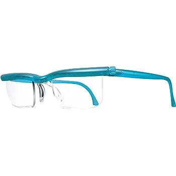 【自分で度数調節できるPCメガネ】(シアン クリスタル)アドレンズ ユーズーム スクリーンプロテクト【ブルーライト カット PCメガネ】