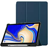Fintie Slim Shell Case for Samsung Galaxy Tab S4 10.5, Super Slim Lightweight Stand Cover with S Pen Holder Auto Sleep/Wake for Galaxy Tab S4 10.5 Inch 2018 (SM-T830/T835), Navy
