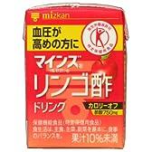 [トクホ]マインズ リンゴ酢ドリンク 100ml×18個 「特定保健用食品」
