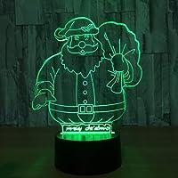 ZUNYI 照明 おしゃれ サンタクロースは装飾的な読書テーブルランプ新しい奇妙な創造的な夜の光深セン7カラフルなタッチを導きました ダイニング 照明