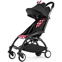 Baby Strollerウルトラライトポータブル簡単折りたたみSeatedリクライニングに飛行機ベビーベビーカー雨カバー調節可能なNeonatal 0 – 36ヶ月旅行ベビーカー4361103 CM Parkson ment Store-0620