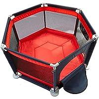 BSNOWF-ベビーサークル ベビープレイペンリムーバブル6パネルベビー幼児安全プレイセンターヤード屋内屋外の家