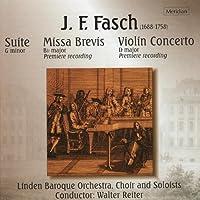 Fasch:Missa Brevis/Violin Conc