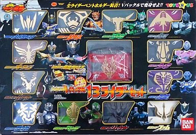 Kamen Rider Ryuki Transformer Belt 13 Rider Set Toysrus Limited<Japan import