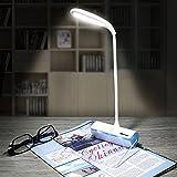 LED スタンドライト,LED デスクライト,BAVIER® メッセージボード,タッチセンサー,タッチライト,USB充電対応,伝言板/蛍光ペン付き,ledライト,ナイトライト,電池付き,睡眠/読書ランプ 3段階 調光 ( ブルー)