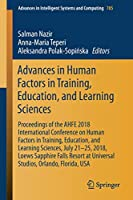 Advances in Human Factors in Training, Education, and Learning Sciences (Advances in Intelligent Systems and Computing)
