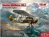 ICM 1/32 イギリス空軍 グロスター グラジエーター Mk.I プラモデル 32040