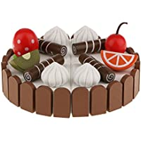 【ノーブランド品】 木製 マグネット 料理 食べ物モデル 食品ハウス ごっこ遊び キッチンおもちゃ 7種選ぶ ギフト - #6
