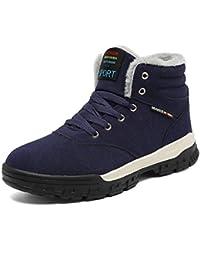 Sixspace スノーブーツ メンズ 防滑 スノーシューズ ショート ブーツ 防水 防寒 保暖 冬用 ウィンターブーツ 綿靴 雪靴