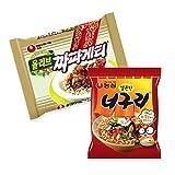 チャパグリ 4人前 チャパゲティ2袋+ノグリ2袋 짜파구리 ※韓国、又は日本版