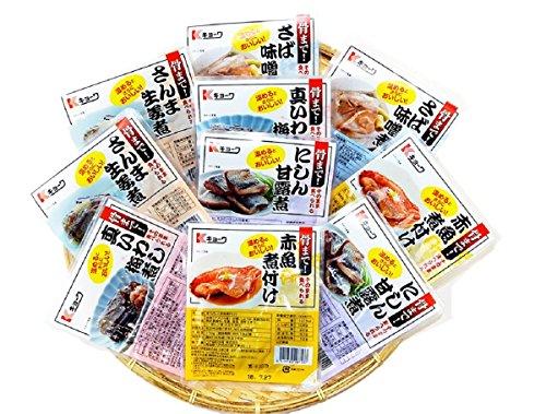 ヘルシー煮魚セット10Pセット 栄養たっぷり青魚の煮魚そのま...