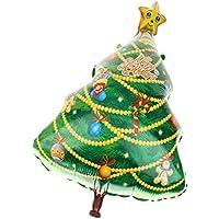 【ノーブランド品】メリークリスマス 大飾ら クリスマスツリー バルーン  ホームパーティー アクセサリー 風船