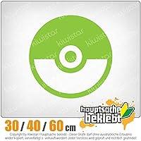 KIWISTAR - Pokeball - Championball - Catch them all 15色 - ネオン+クロム! ステッカービニールオートバイ