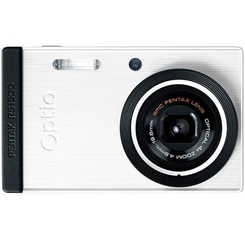 PENTAX  Optio RS1500(パールホワイト) 1400万画素 27.5mm 光学4倍 簡単着せ替え OPTIORS1500WH