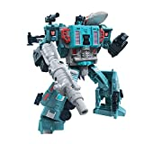 Transformers Toys Generations War for Cybertron: Earthrise Leader WFC-E23 Doubledealer Triple Changer Action Figure - Kids Ages 8 and Up, 7-inch