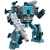 "Transformers Generations - Earthrise War for Cybertron E23 - Doubledealer Triple Changer 7"" Leader Action Figure - Kids Toys"