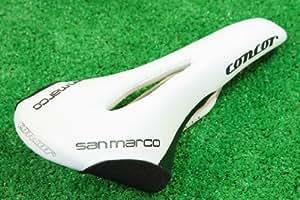 セラ サンマルコ SAN MARCO CONCOR Wh RASING OPEN サドル 軽量215g コンコール レーシング オープン マンガン レール ホワイト