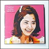パネル 絵 イム・ユナ 少女時代 K-POP 韓国 歌手