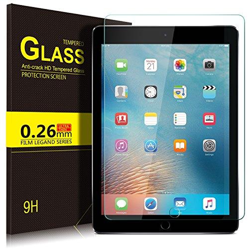 Apple ipad 9.7 2018 ガラスフィルム YOCCO ipad 9.7 2018フィルム ipad 9.7 インチ 強化ガラス (2018年新型) 9.7インチiPad 9.7 液晶保護フィルム 高透過率 防爆裂 気泡ゼロ 指紋防止 硬度9H 画面保護&指紋防止シートApple 新 9.7インチ 第6世代iPad 9.7 inch (2018) / iPad Air2 ガラスフィルム 2.5D