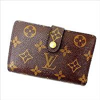 ルイヴィトン Louis Vuitton がま口財布 二つ折り ユニセックス ポルトモネ ビエヴィエノワ M61663 モノグラム 中古 Y1136