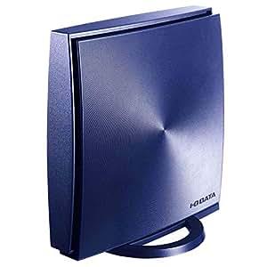 I-O DATA WiFi 無線LAN ルーター ac1200 867+300Mbps IPv6 フィルタリング デュアルバンド 3階建/4LDK/返金保証 WN-AX1167GR2/E