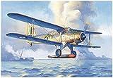 トランペッター 1/48 第二次世界大戦 イギリス海軍 フェアリー アルバコア 複葉艦上雷撃機 プラモデル 02880