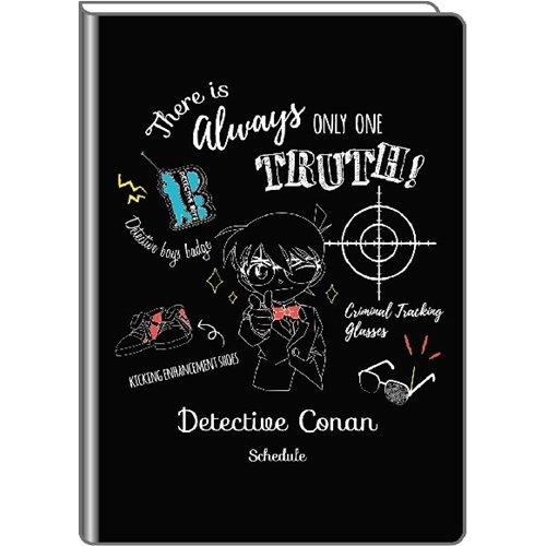 デルフィーノ 2019年マンスリー手帳 名探偵コナン ブラック 2018年9月始まり B6サイズ CNN-36235