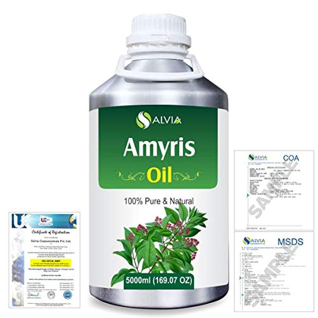 エクスタシーモットー説教するAmyris (Amyris balsamifera) 100% Natural Pure Essential Oil 5000ml/169fl.oz.