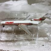 The Trump Shuttle (Donald Trump) Boeing 727-254 Jet Plane 1:600 Scale Die-cast Plane Made in Germany [並行輸入品]