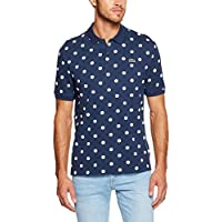 Lacoste Men's L!Ve Printed Polo
