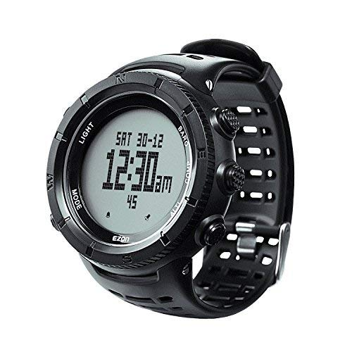 c33971e66f EZON登山ハイキングアウトドアスポーツウォッチコンパス高度計バロメーター温度計防水腕時計メンズのh001h11 EZON  h001h11?Professionalハイキングアウトドアスポーツ ...