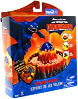 How to Train Your Dragon TM Dragon Egg Play Set 。With Volcanic Opening Diorama [ super-rare 。Limited Edition ] 。