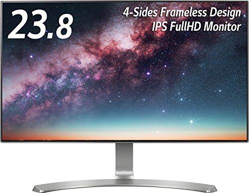 LG 24MP88HV-S IPSディスプレイ モニター 23.8インチ/フルHD/非光沢/4辺フレームレス/HDMI