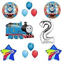 トーマスTheタンクエンジントレイン2 nd Happy誕生日バルーンセット