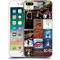 オフィシャル AC/DC ACDC アルバムカバー コラージュ ハードバックケース Apple iPhone 7 Plus / iPhone 8 Plus