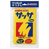 [大日本除蟲菊 9656994] (まとめ)サッサ 15枚入×10パック