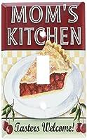 MOM 's Kitchenスイッチプレート Single Toggle S386-plate 1
