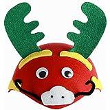 かわいいキッズパーティーは素敵なパーティー帽子子供たちのおもちゃを好む[ドラゴン]