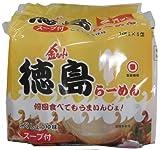 徳島製粉 金ちゃん徳島ラーメン5食パック 530g×6袋