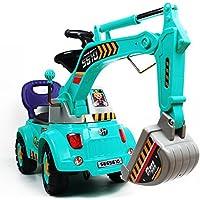 POCO DIVO ショベルカー スクーター 牽引車 乗用玩具 工事現場トラックごっこ遊び