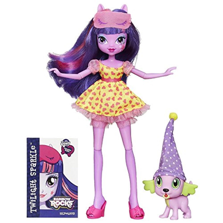 輸入マイリトルポニーハズブロhasbro、おしゃれなポニー My Little Pony Equestria Girls Twilight and Spike [並行輸入品]
