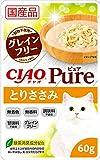 【単品】チャオ Pureパウチ とりささみ 60g