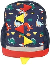 リュックサック キッズ 恐竜 通園 通学 習い事 遠足 イベント 色違い おそろい 男の子 女の子 きょうだい ネイビー 紺 水色 ピンク 赤 しっぽ 写真映え プレゼント ギフト 子ども用