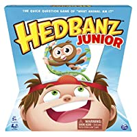 (Hedbanz Jr) - HedBanz - HedBanz Jr. Family Board Game for Kids Age 5 And Up