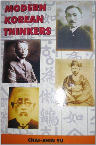 MODERN KOREAN THINKERS (English Edition)